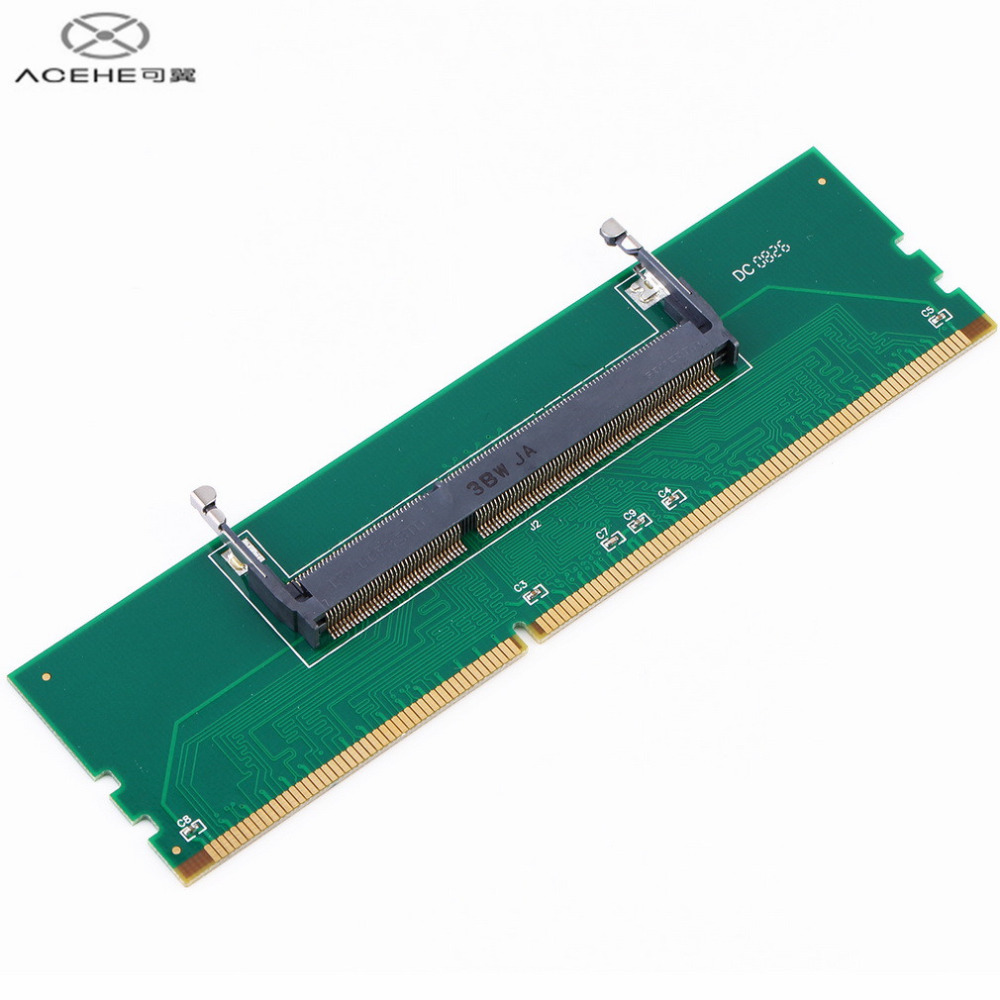 ACEHE High Quality DDR3 Laptop SO-DIMM to Desktop DIMM Memory RAM Connector Adapter DDR3 Hot Sale in stock!!!
