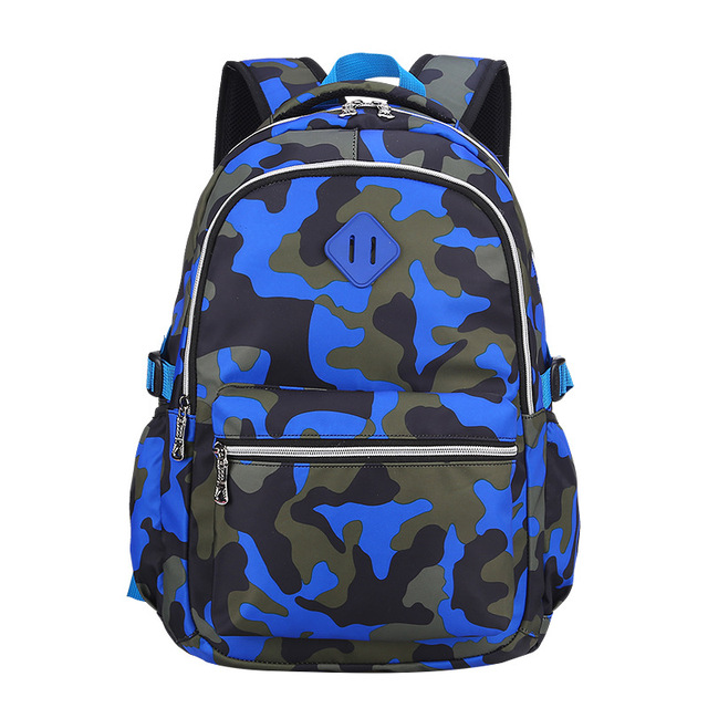fashion camouflage school backpack waterproof backpacks for children  teenagers boys and girls printing Casual Daypack Mochila 5b6378d19926f