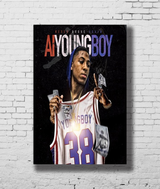 P1881 Art NBA AI Youngboy Never Broke Again New Album