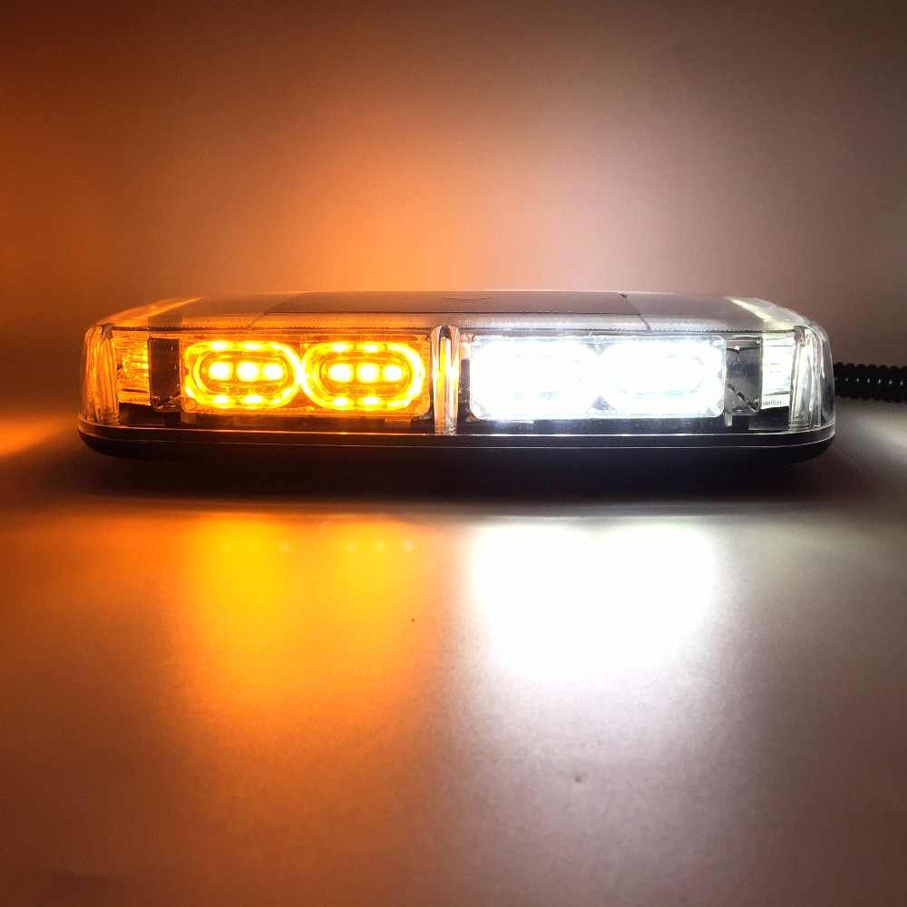 36LEDs Super Bright Car Roof Warning Light Dome LED Flashing Strobe  Emergency Vehicle Police Lights Magnetic Mounted DC 12V