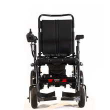 2019 Lightweight folding electric wheelchair with commode