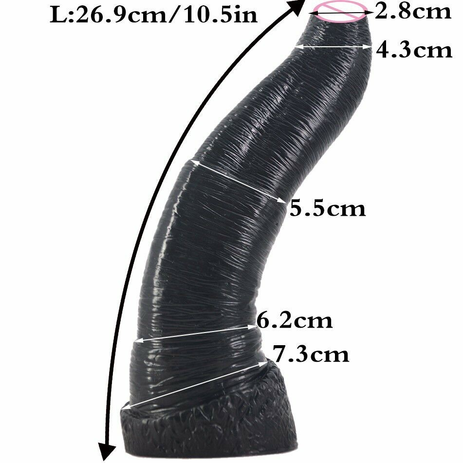 large black big dildo animal penis elephant dildo artificial penis male female anal plug woman couples masturbation sex toys 2