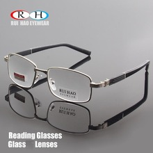แว่นตาแก้วใสเลนส์ Presbyopic แว่นตาอ่านแว่นตา + 1.00 ~ + 4.00 แว่นตาออกแบบ 1308