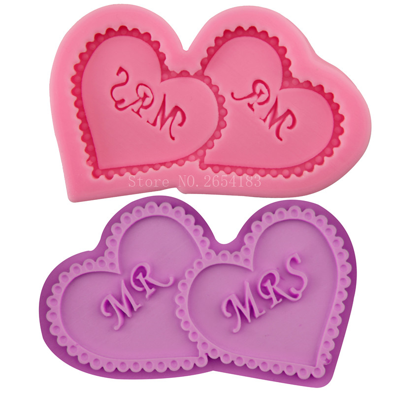 Love Heart For Valentines Amp Marry Silicone Fondant Soap 3D