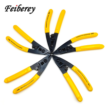 5 pcs CFS-3 CFS-2 CFS 2 3 FTTH Optical Fiber Stripping Tool Plier Fiber Optic Stripping Wire Stripper Fiber Optic Cable Stripper недорого