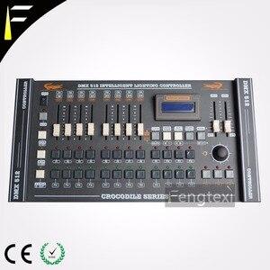Crocodilo 1216 console dmx512/1990 padrão 228 canais controlador 480 passos perseguição dj disco console