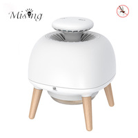 Mising DL 201 2 in 1 Mosquito Killer Lamps USB Powered Smart LED UV Mosquito Trap Atmosphere Light Three modes Table Night Lamp