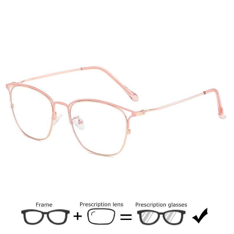 100% QualitäT Optische Verordnung Brille Frauen Myopie Brillen Mit Klar Linsen Photochromism Hyperopie Brille Anit Blau Ray Brillen