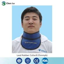 التعرض الطبي الحماية من الإشعاع 0.35mmpb الغدة الدرقية طوق الأشعة السينية واقية قسم الأشعة الملحقات