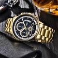 Часы NIBOSI мужские  модные  кварцевые  водонепроницаемые