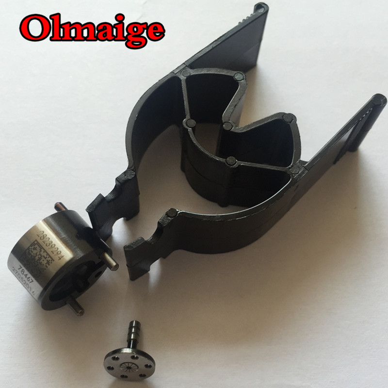 Para Ssangyong 28239294 28440421 9308z621c 9308-621c preto diamante-como revestimento de carbono válvula de controle do injetor de combustível para motores diesel