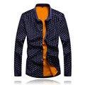 Amazon Качество Груза падения 2016 Новый Утолщение Рубашки Весенняя Мода Slim Fit Мужчины Рубашка С Длинным Рукавом Бренд Мужской Рубашки