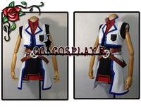 Free Shipping Cosplay Costume Magical Girl Lyrical Nanoha StrikerS Teana Lanster New In Stock Retail Wholesale