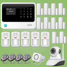 Chuangkesafe 2015 G90B WiFi GSM Intruso Sistema de Puerta/Ventana Gap Detectot + Ip + Sensor PIR