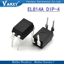 10 PCS DIP EL814A EL814 DIP4 PC814 PC814A novo e original IC frete grátis