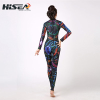 New Adults 3mm Long Sleeved Siamese Diving Suit Women Sunscreen Swimming Jellyfish Outdoor Quick Drying Surfing