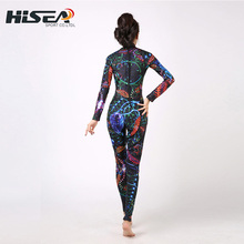 New Adults 3mm Long- sleeved Siamese Diving Suit Women Sunscreen Swimming Jellyfish Outdoor Quick - drying Surfing Clothing