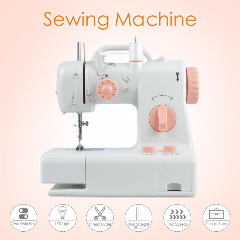 High Quality Home Sewing Machine Sewing Machine Stitching Lightweight Diy Home Decor Machinery Design Easily Carried A25