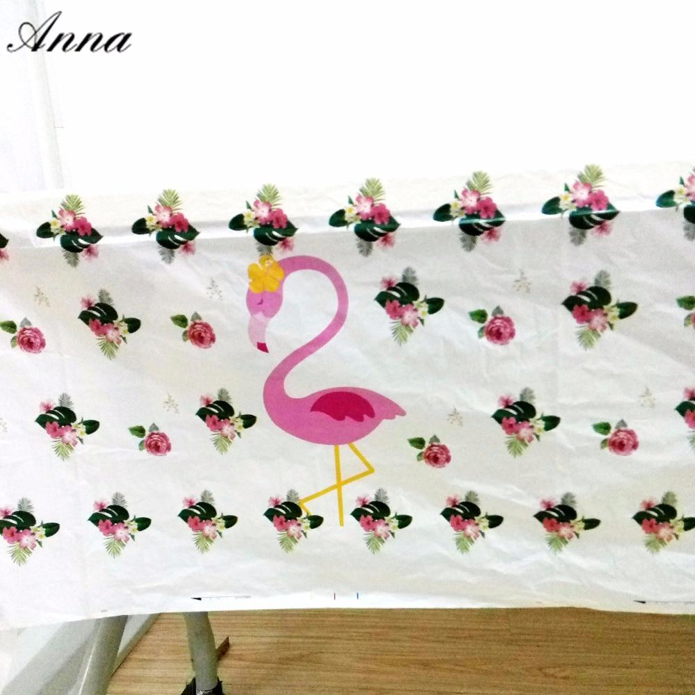 108x180cm Flamingo Birthday Party Decorations Tablecloth  Decoration Table Cloth