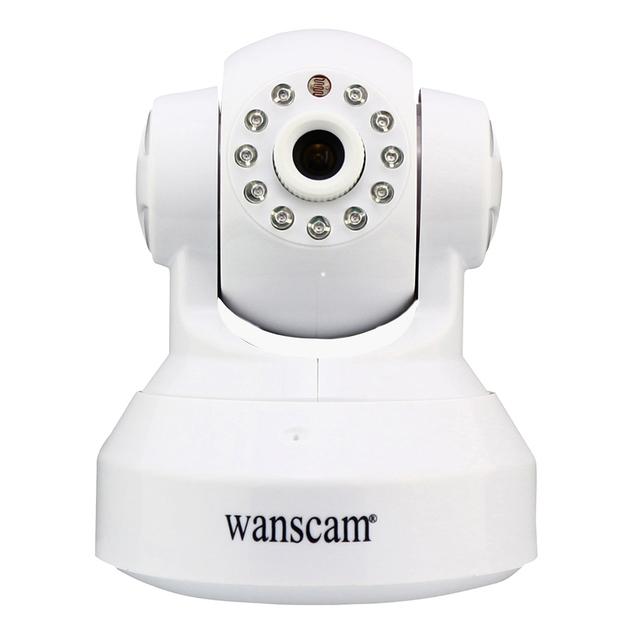Wanscam HW0024 Inalámbrica Wifi 720 P IP Cámara Dual Audio P2P Plug Y Jugar Cámara IR de Visión Nocturna Pan Tilt Red de Seguridad de Interior