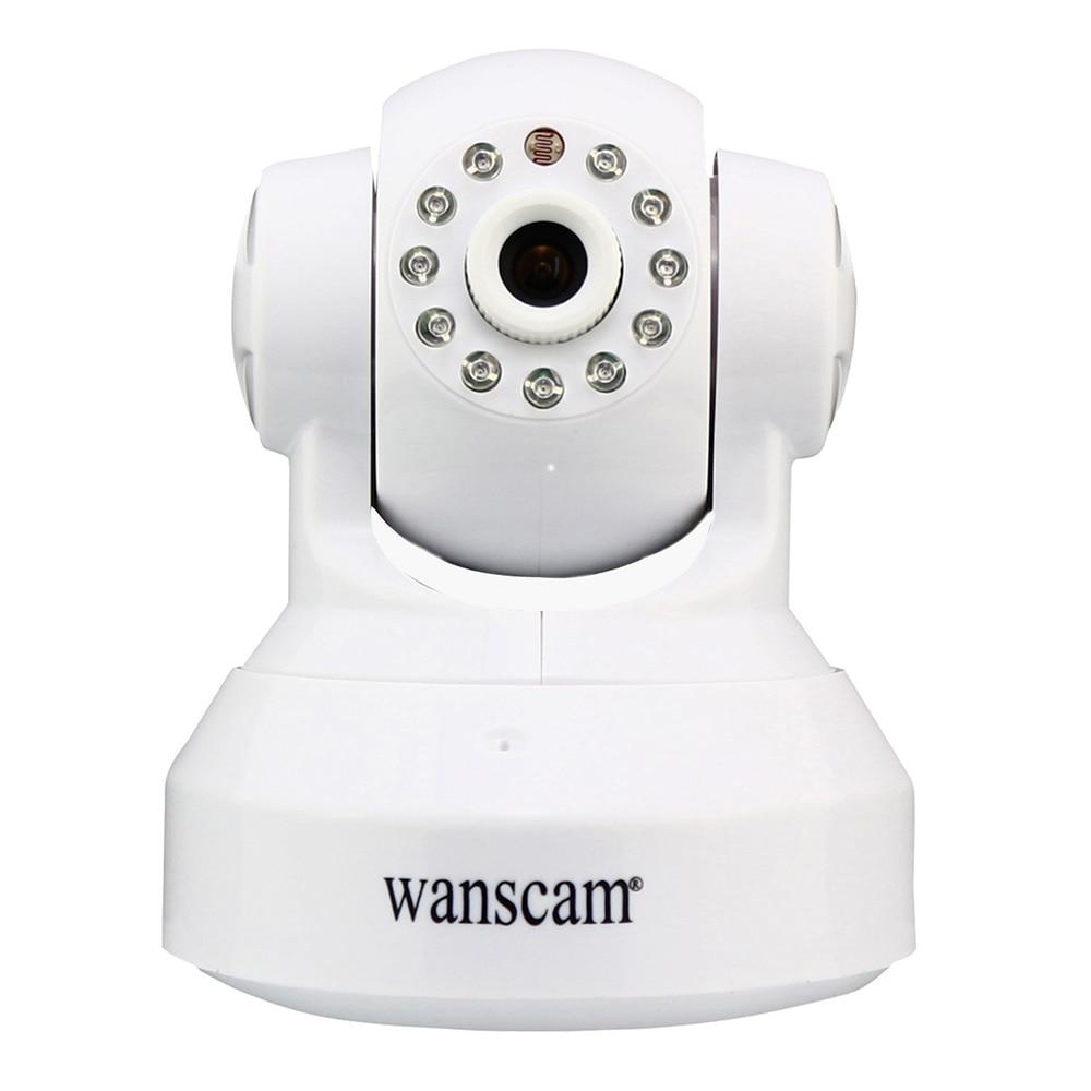 Wanscam HW0024 Wireless Wifi 720P IP Camera Dual Audio P2P Plug AND Play Pan Tilt Security Network Indoor Camera IR Night Vision wanscam hw0030 1 p2p pnp 2way audio wireless wifi webcam pan tilt ir night vision security ip camera support tf card recording