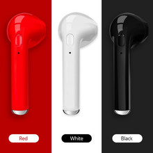 Factory Sale Quality Tws I7 Wireles Bluetooth Earphones In Ear Headset Stereo Bass Invisible With Mic Single/Pair Sport Earphone