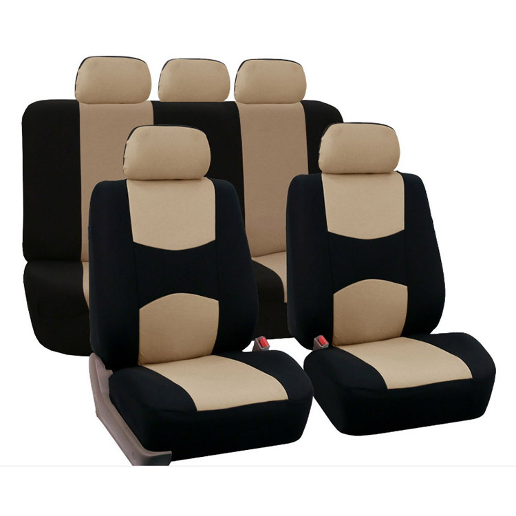Image 5 - 1 Set 4/9pcs Car Seat Cover General Polyster Dustproof Automobiles Seats Cushion Cover Set Fit For Most Car SUV Or Van-in Automobiles Seat Covers from Automobiles & Motorcycles