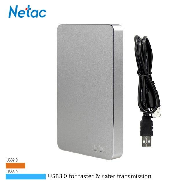 100% Оригинальный K330 500 ГБ 1 ТБ 2 ТБ Netac ЖЕСТКИЙ ДИСК USB 3.0 Внешний жесткий Диск HD Диск Устройства Хранения 1 ТБ Внешний Жесткий Диск диск