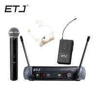Бренд etj UHF PGX24 PGX14 Профессиональный Беспроводной микрофон Системы PGX отличное качество микрофона