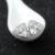 Triângulo atacado com brincos flor Do Parafuso Prisioneiro presente pure 925 brinco de prata Elegante Charme jóias para mulheres VCYWE012