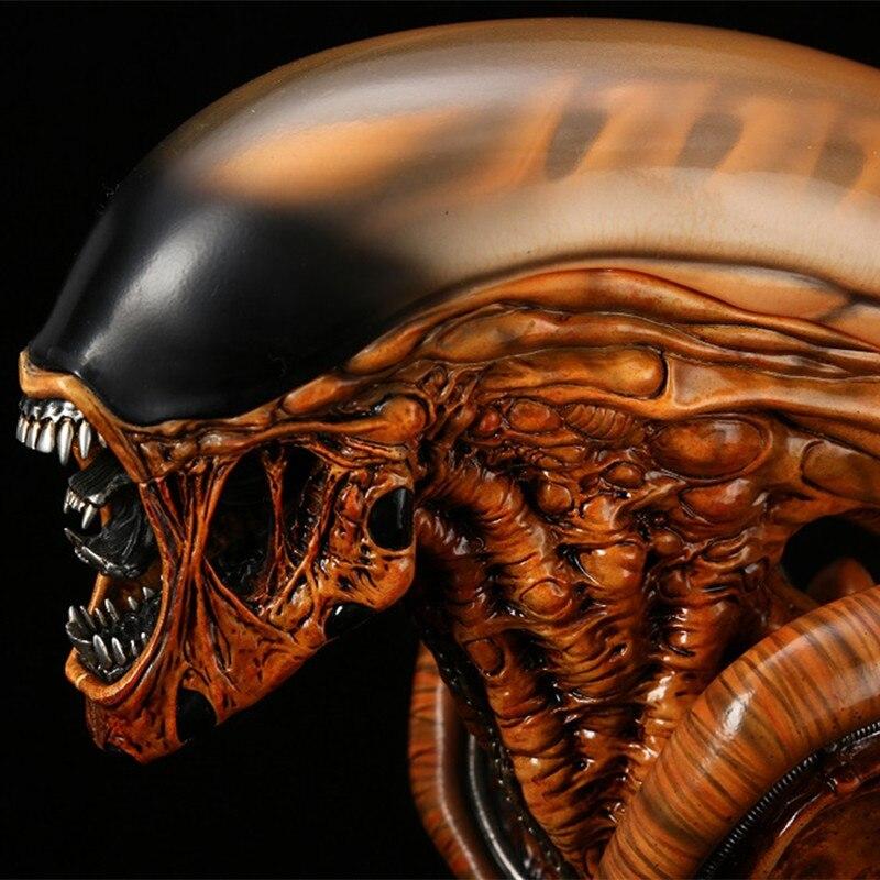 Nuovo Arrivo 1/3 Bilancia Alien 3 Alien Resina Trasparente Busto Statua Da Collezione Action Figure
