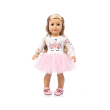 18 inch Doll dress-Fashioh clothes for My Little Baby-18american/Life/Generation Accessories Cute toy Outfit fit Girl Gift my american