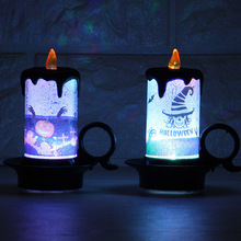 Halloween Party Supplies Artificial Flame LED Candle Lights Tea Electronic Lamp for Decoration Ornaments
