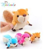Wholesale 10pcs Lot 8cm Squirrel Plush Toy Small Pendant Lovely Key Bag Strap Plush Toys Large