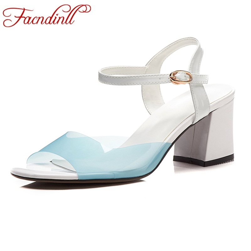 FACNDINLL summer women gladiator sandals new 2018 sexy square high heels peep toe shoes woman dress party wedding shoes sandals dijigirls women pumps peep toe high heels gladiator sandals shoes woman party wedding flock leather stiletto lace up summer boot