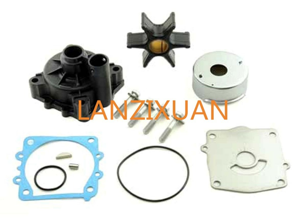 68V-W0078 68V-W0078-00 Water Pump Kit For Yamaha 115HP F115 Boat Outboard Motors bluesonic bs f115