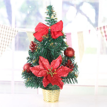 35CM Artificial Mini Christmas Tree Merry Christmas Decoration Home Xmas Ornaments Supplies Celebrate Party Supplies
