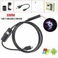 8 мм Объектив USB Эндоскоп Android 1 М 1.5 М 2 М 3.5 М 5 М OTG PC Endoscopio Мини Камеры Эндоскопа Инспекционной Водонепроницаемый Телефон USB камера