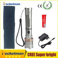 2018 3800LM Led Flashlight 5 Modes Lampe Torche Lantern Linternas CREE XM T6 Led Torch With