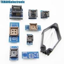 8 программист Адаптеры для сим-карт розетки комплект для TL866CS, TL866A, EZP2010 с IC extractor электронный DIY Kit