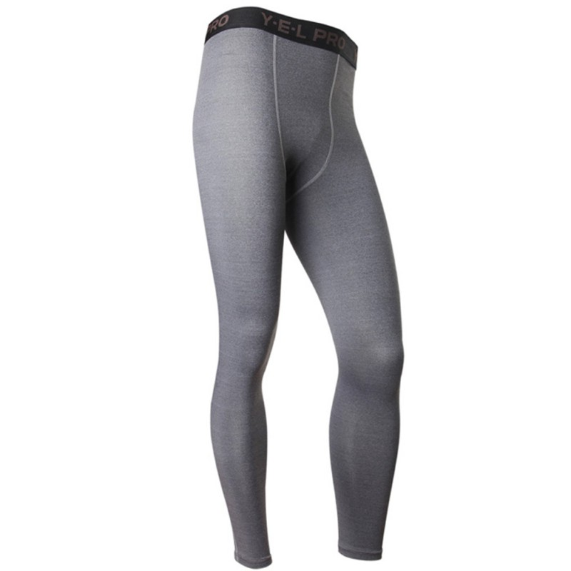 Men Compression Athletic Pants Running Training Fitness Base Layers Skin Sports Tights Gym Men Leggings
