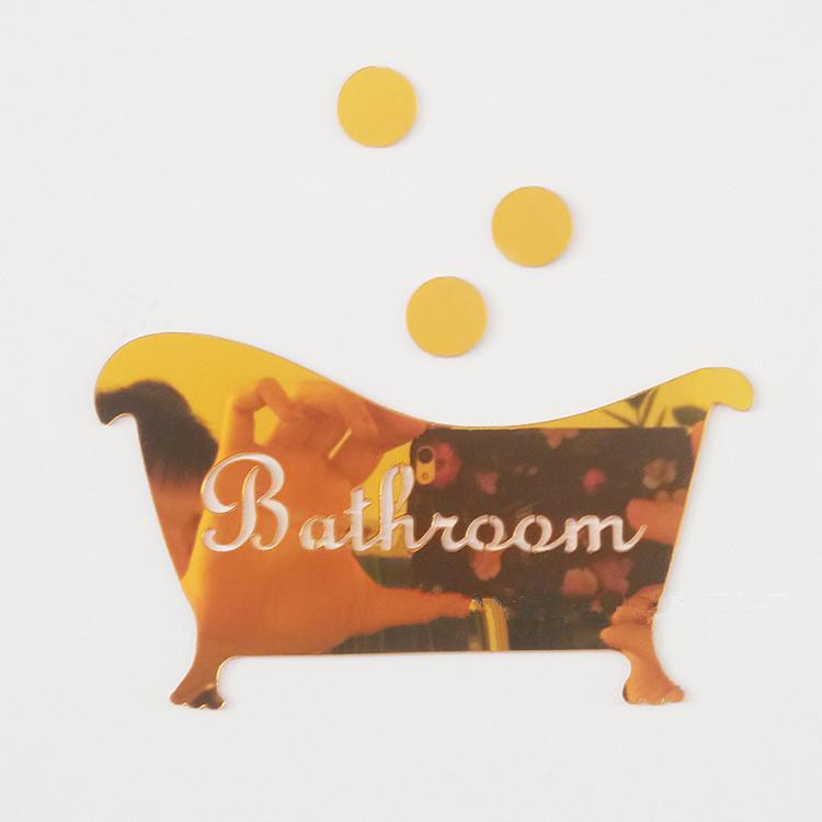 Waterproof Mirror Wall Sticker For Bathroom Free Shipping