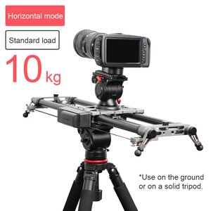 Image 3 - YC ONION Track Camera Slider Carbon Fiber Adjustable Angle Tube Follow Focus Pan for Stabilizer DV DSLR Cameras Video Shooting
