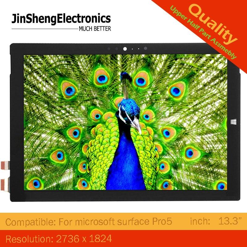 Nouveau Pro5 12.3 écran tactile LCD pour Microsoft Surface Pro 5 1796 écran lcd + écran tactile verre assemblage complet surface pro5