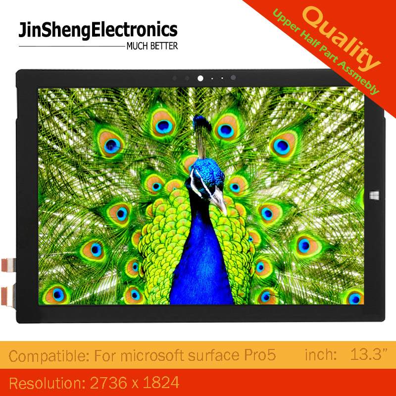 new Pro5 12 3 LCD Touch Screen For Microsoft Surface Pro 5 1796 lcd Display touch