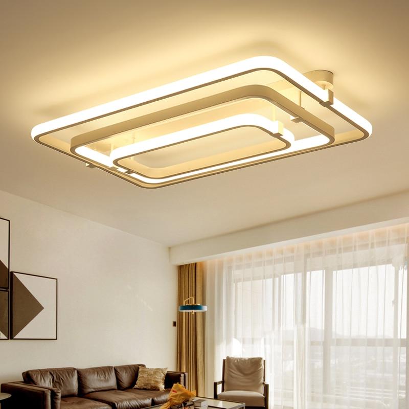 Modern Led Pendant Lamps Living Room Acrylic Fixture: Modern Acrylic Design Led Ceiling Lights Acrylic Bedroom