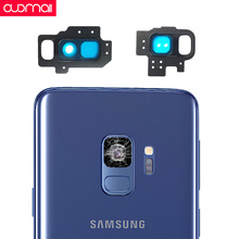 Rear Camera lens outer frame for Samsung Galaxy S9/S8/S9 S8 plus Note9/8 Camera glass frame Repair parts replacement camera repair parts for nikon coolpix s3000 s4000 s2500 for samsung st60 st61 for casio z370 s8 s9 lens zoom unit