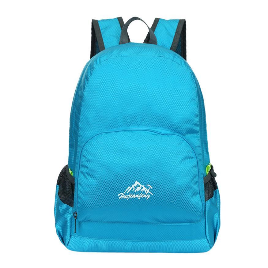 Men Backpack School-Bags Mochila Masculina Travel College Male Casual Nylon Zipper -410