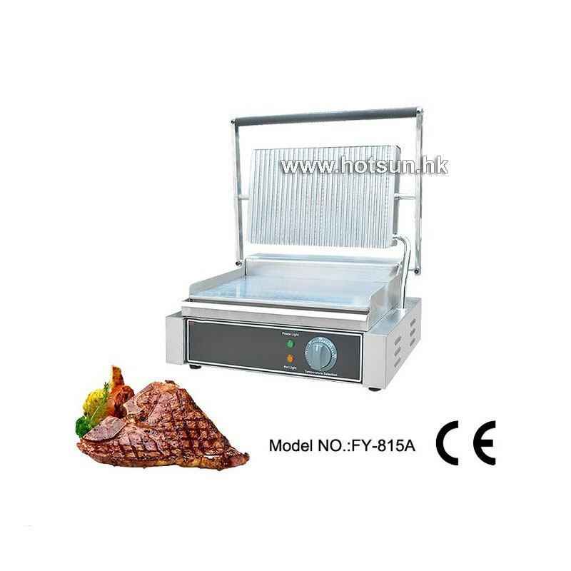 Commercial Non-stick Electric 220v Countertop table top fast food kitchen equipment Panini Contact Griddle free ship new premium fast food equipment commercial package double grilled hamburger machine price