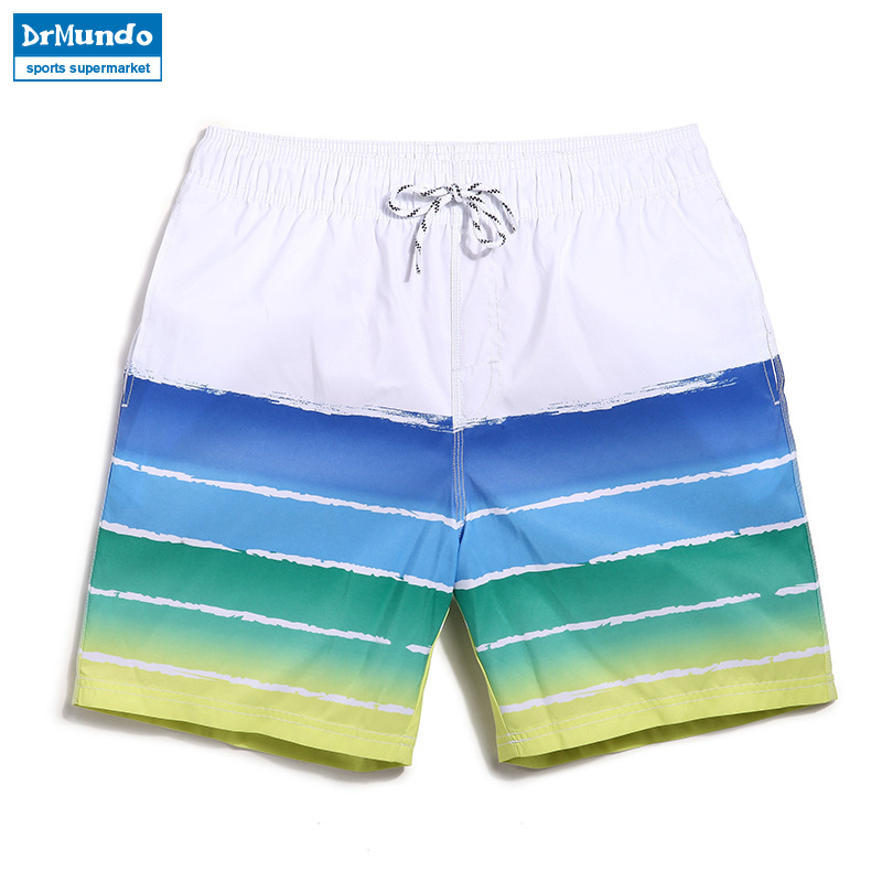 Summer mens Board shorts fastskin beach surfing shorts men swimming trunks mens swimwear swim short swimsuit Elastic gym